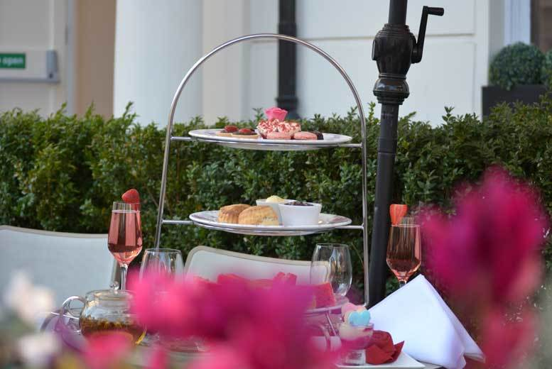£19 for an afternoon tea for two, £24 to include Prosecco or £29 with Champagne at Park Grand Lancaster Gate - save up to 52%