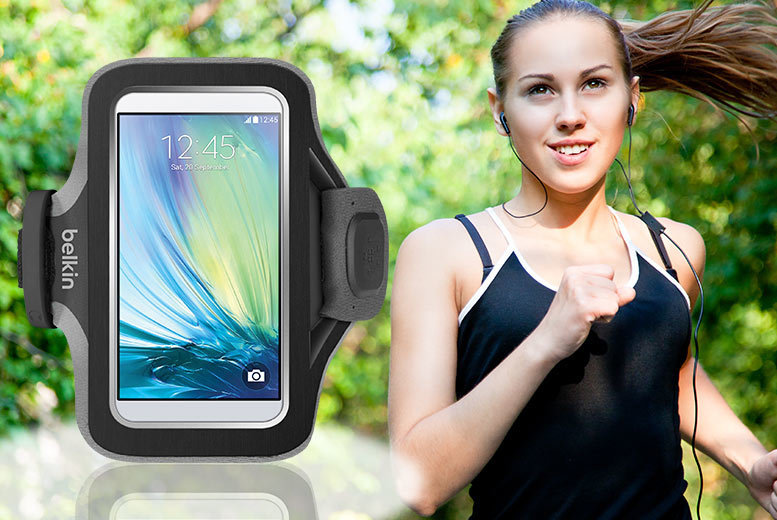£4.99 instead of £18 (from Pacetech) for a Belkin fitness armband to fit Samsung Galaxy phones - save 75%
