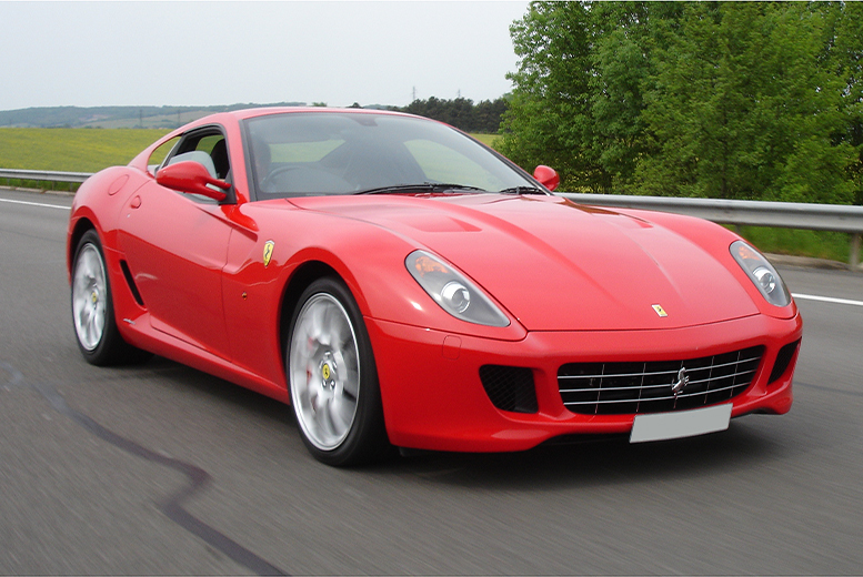 £49 for a Ferrari 350 or F430 'driving blast' experience from Buyagift at one of 13 locations!