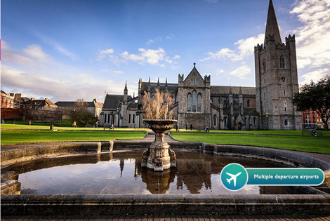 From £69pp (from ClearSky Holidays) for a two-night Dublin spa break with flights, from £129pp for three nights, from £149pp for four nights - save up to 66%