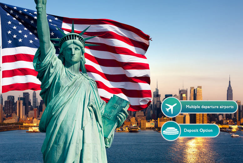 From £599pp for a six-night 4* New York and Niagara Falls break with flights and Amtrak train transfer, pay from a £250pp deposit today - save up to 37%