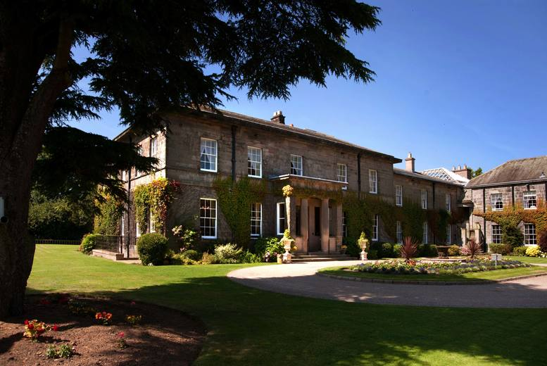 £139 for a 4* Northumberland stay for two including leisure access, breakfast and £80 dinner credit at Doxford Hall Hotel and Spa, near Alnwick - save up to 49%