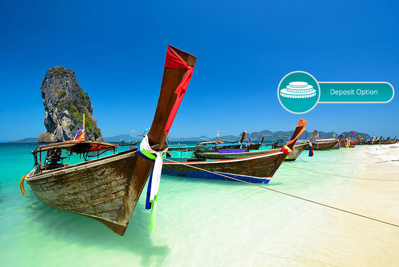 From £699pp for an eight-night Thailand break to Koh Tao, Koh Samui and more, including breakfast, flights and ferry transfers, or a ten-night stay from £799pp, or pay a £350 deposit - save up to 27%