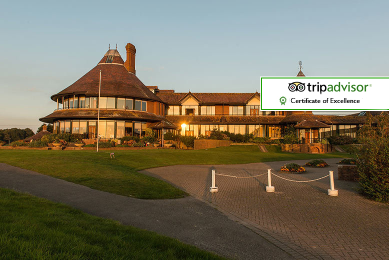 £129 (at the East Sussex National Hotel) for a romantic overnight stay for two with breakfast, a mini beauty treatment and leisure club access  - save up to 46%