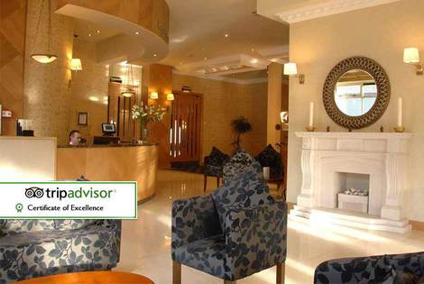£65 for an overnight stay for two people with a glass of bubbly, breakfast and leisure access, £99 for two nights at the 4* Villa Rose Hotel, Ballybofey
