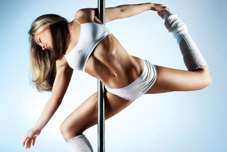 £2 instead of £7.50 for a 1-hour pole dancing taster session at Goeswell Dance Fitness - choose from 3 locations and save 73%