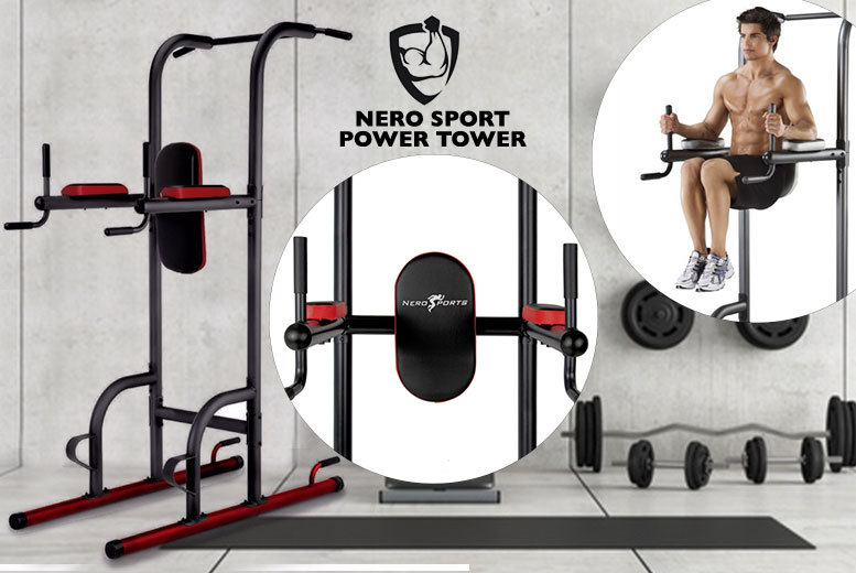 £99 (from Blue Unplugged) for a Nero sports tower with pull up bar, with a limited number available for just £89