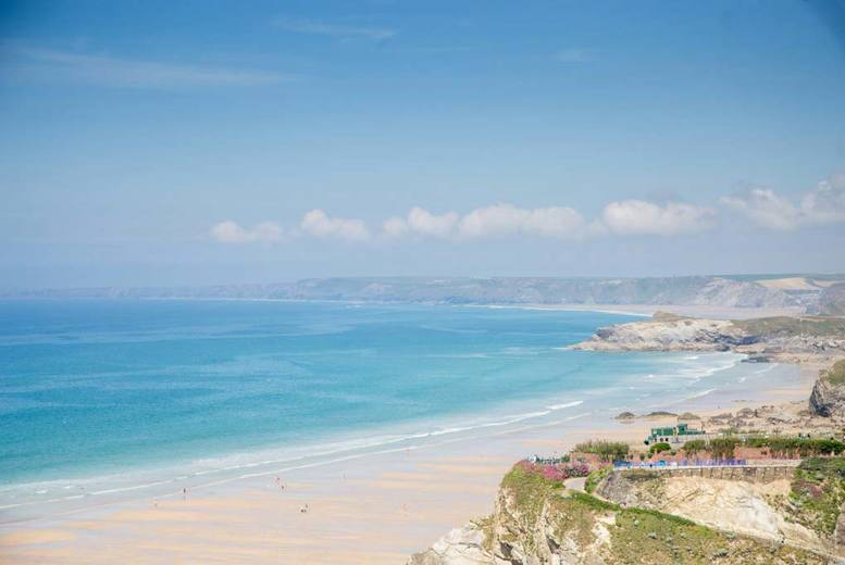 From £79 (at Pentire Hotel) for a two-night Newquay stay, glass of wine and breakfast for two people - enjoy a Cornish getaway and save up to 62%