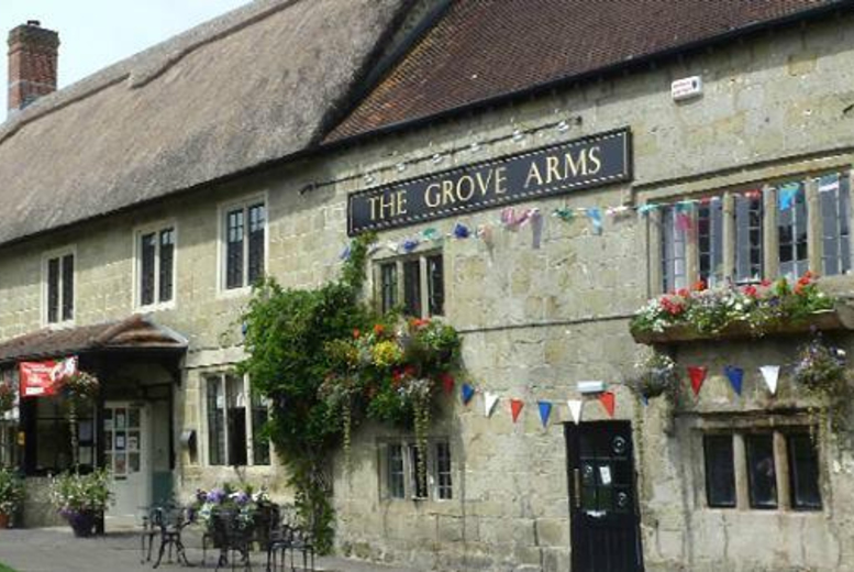 £59 (at The Grove Arms) for an overnight Dorset stay for two people including wine, breakfast and early check in, £99 for two nights - save up to 51%