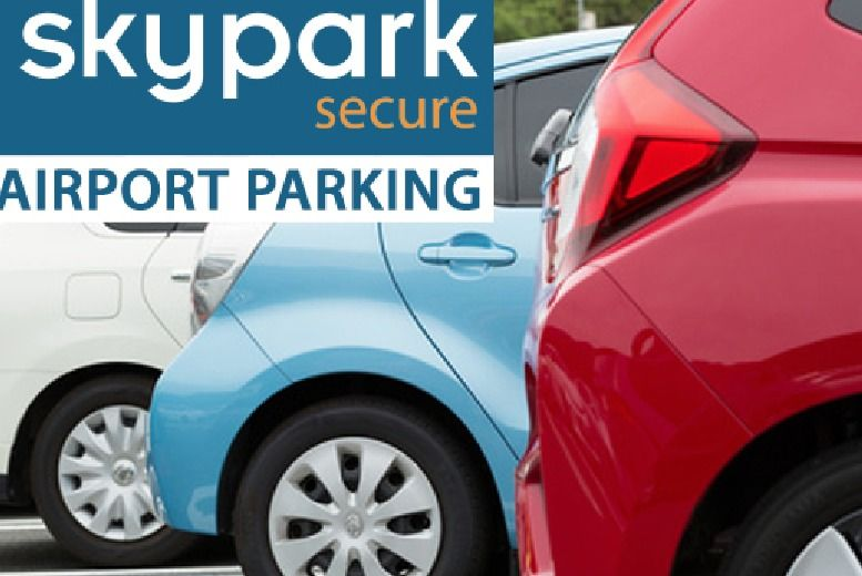 £1 for up to 32% off airport parking at over 10 UK airports from SkyPark Secure