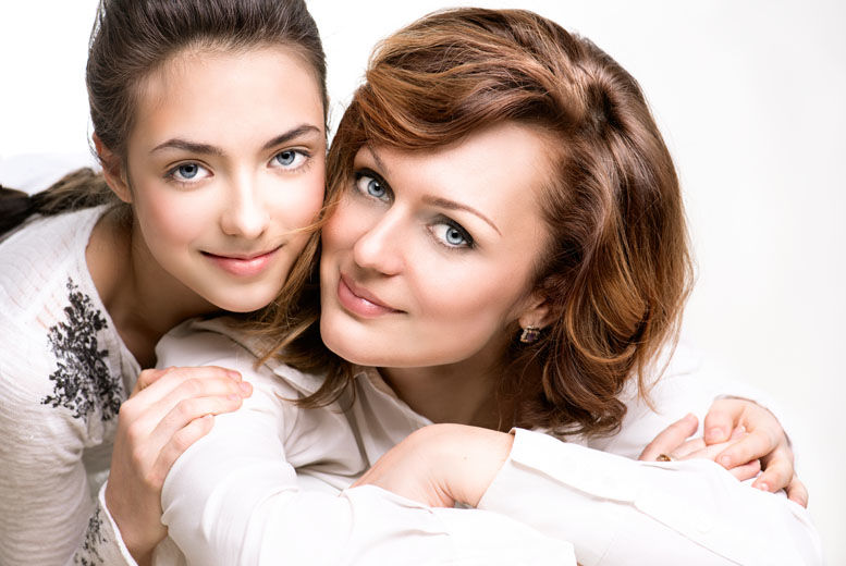 Mother & Daughter Makeover Photoshoot
