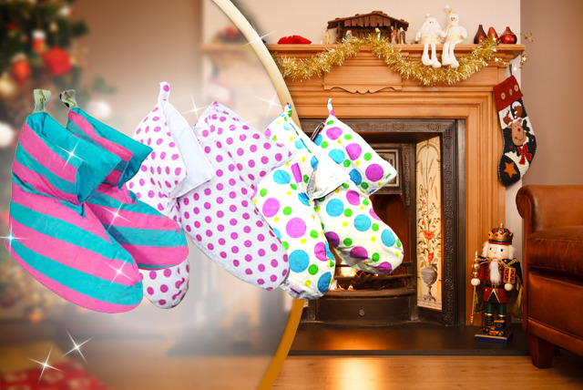 £7.99 instead of £30 (from Urshu) for a pair of duck down slippers in a range of designs - save 73%