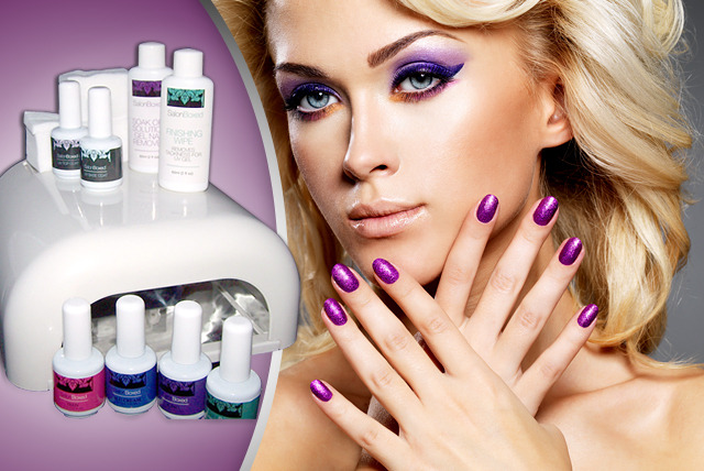 £59 instead of £230 (from SalonBoxed) for a gel nail kit and your choice of 4 polishes - save 74%