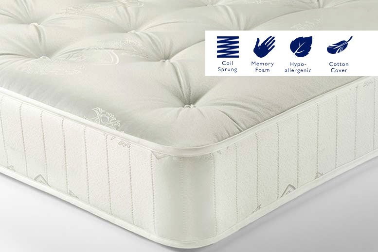 Sleep Sweet Traditional Memory Sprung Mattress