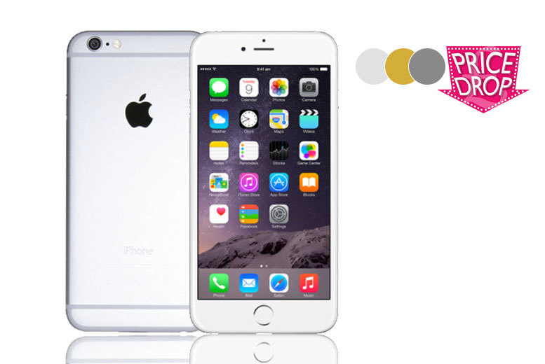 £359 (from Handtec) for an Apple iPhone 6 Plus 16GB, £389 for 64GB or £419 for 128GB - choose from three colours!