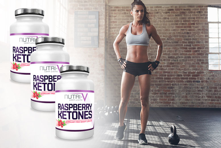 £6 instead of £20 (from Nutri V) for a one-month supply* of raspberry ketones, £15 for a three-month supply* - save up to 70%