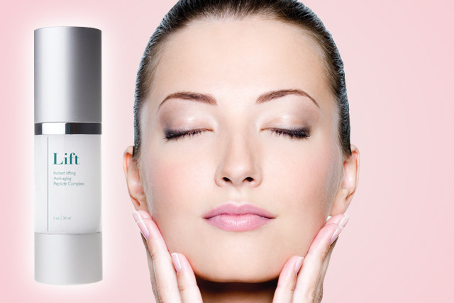 £19 instead of £99 (from Look Good Feel Fabulous) for a 30ml bottle of  'Instant Lifting Anti-Ageing Peptide Complex' – save 81%