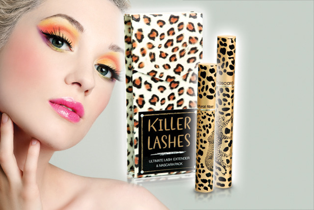 £11.99 instead of £29.99 (from Look Good Feel Fabulous) for a Killer Lashes mascara and lash extender set – save 60%