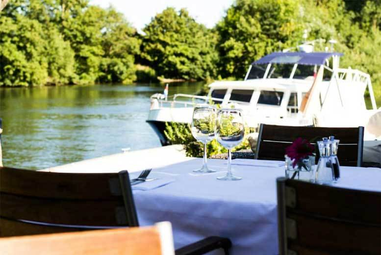 £49 for a three-course meal for two people plus a Champagne cocktail each at the Riverside Brasserie, Bray-on-Thames from Buyagift - save up to 55%