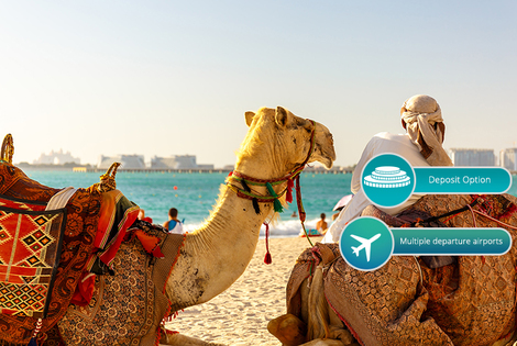 From £649pp instead for a nine-night Dubai, Hong Kong and Bangkok escape with flights, from £749pp for 12 nights, or pay a £350pp deposit today - save up to 28%