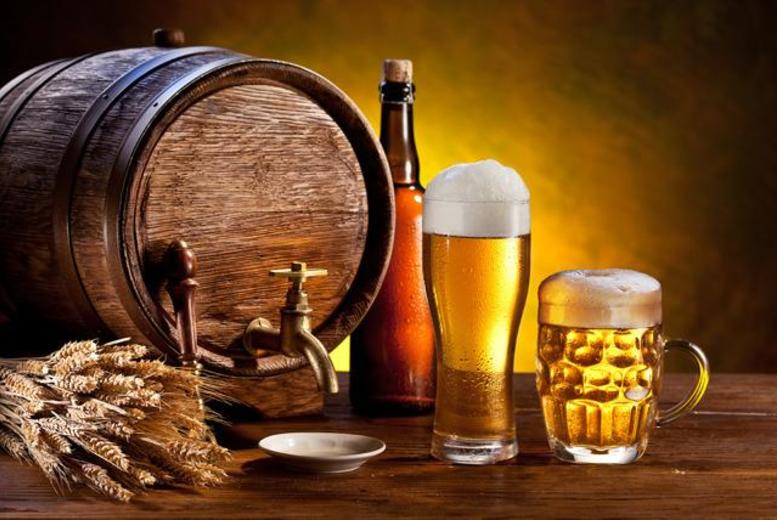 £9 for a brewery tour and tasting session for 2 people at The National Brewery Centre, Burton upon Trent - save up to 50%