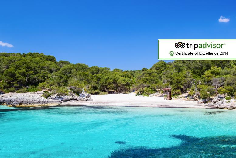 From £69pp (from A1 Travel) for a 3-night self-catered Menorca break including flights, or from £99pp for a 7-night break - save up to 39%