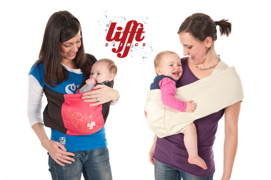 £26.50 instead of £52.99 for a luxury baby sling in a choice of colours & sizes from Lifft – carry your baby in comfort and style & save 50%