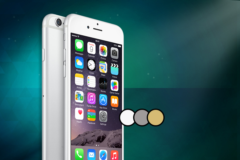 ... iPhone 6 64GB when you sign up to a 24-month contract - save 89%