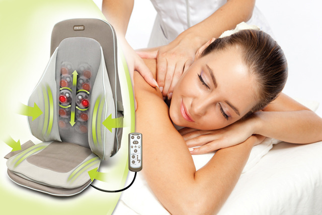£120 instead of £184.99 for a HoMedics Shiatsu portable massager seat including postage from Wowcher Stores – save 35%