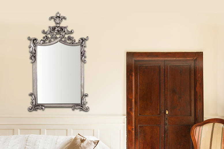 £99 instead of £249 (from Kitchen Gadgets) for an ornate vintage-style wall mirror - save 60%