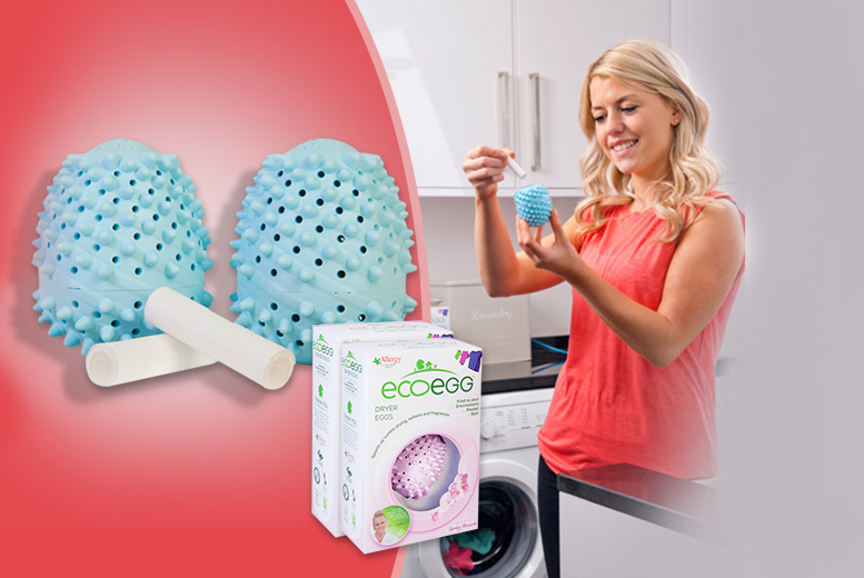 £4.99 instead of £9.99 (from Ecoegg) for 2 eco-friendly laundry dryer eggs, £8.99 for 4 - save up to 50%