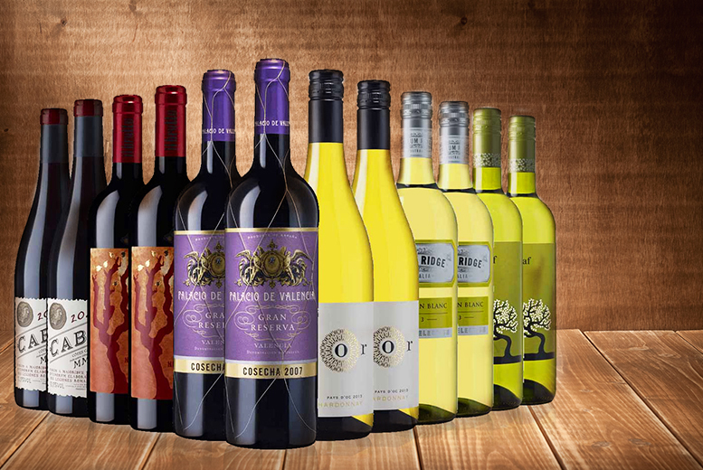 £49 (from Laithwaite's Wine) for 12 bottles of white or red wine + DELIVERY ONLY £1!