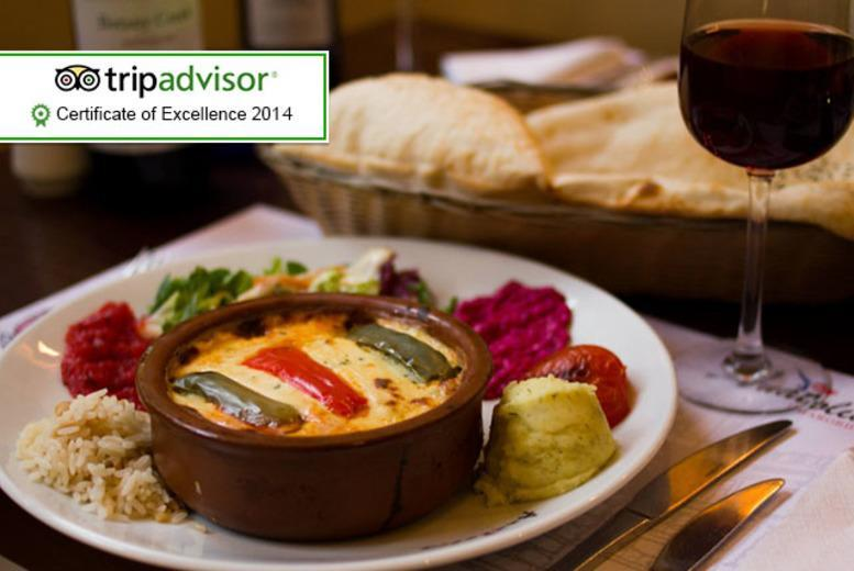 £21 for a 2-course Turkish meal for 2 including a glass of Prosecco or wine each, £40 for 4 at Anatolia Chargrill, Glasgow - save up to 50%