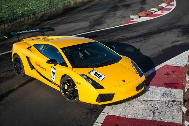 £79 instead of £159 for a 14-lap Lamborghini Gallardo driving experience with Drift Limits, Hemel Hempstead - save 50%
