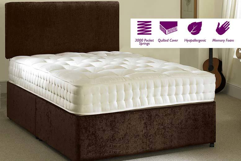 £129 (from Midnight Dreams) for a single pocket sprung mattress, £169 for a small double or double mattress, £199 for a king size mattress - save up to 76%
