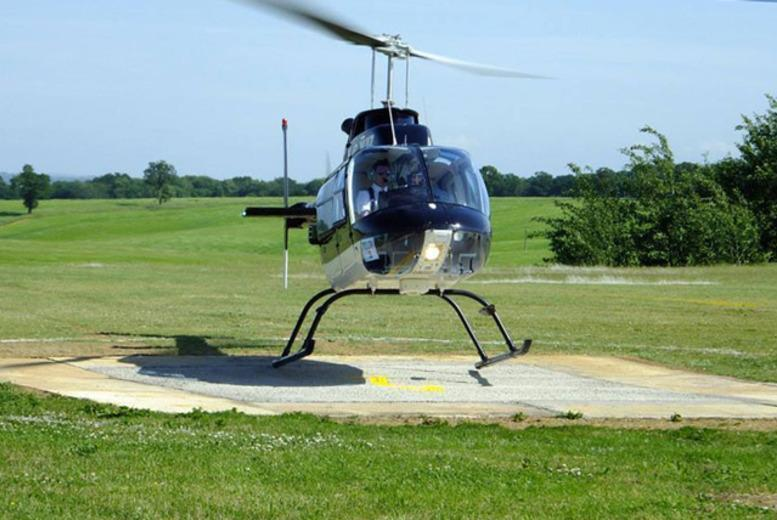 £36 instead of £69 for a helicopter buzz flight with Whizzard Helicopters, Manchester, Welshpool or Liverpool - save a high-flying 48%