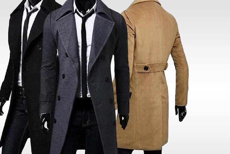 Men's Duffle Coat - 3 Colours!