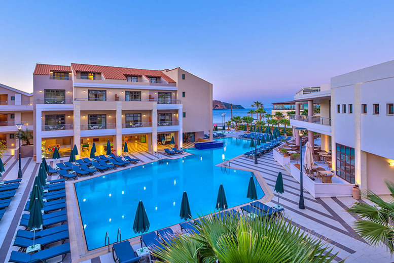 From £189pp for a 3-night 5* all-inclusive Crete break, flights and a view room, from £249pp for 4 nights or from £369pp for 7 nights - Discover Greece and save up to 61%