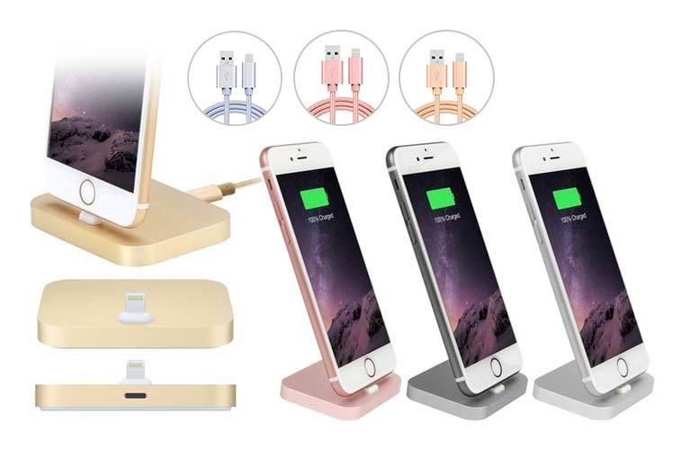 £7.99 instead of £29.99 (from The Fone Stuff) for an aluminium iPhone dock, or £9.99 to include the cable - choose from four colours and save up to 73%