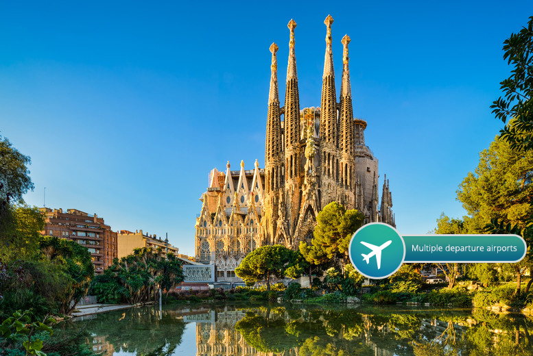 From £89pp for a two-night 4* Barcelona spa break including flights, £159pp for three nights - save up to 36%