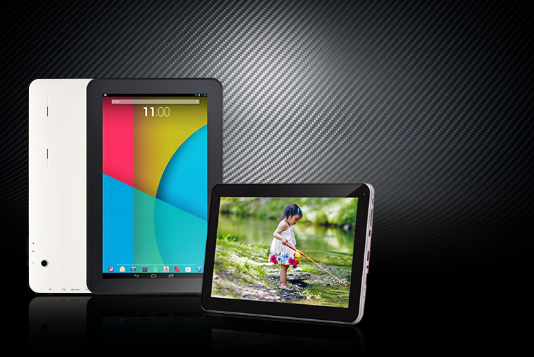"£79.99 instead of £199.99 (from D2D) for a 10.1"" Android 4.4 quad core smart tablet PC - save 60%"