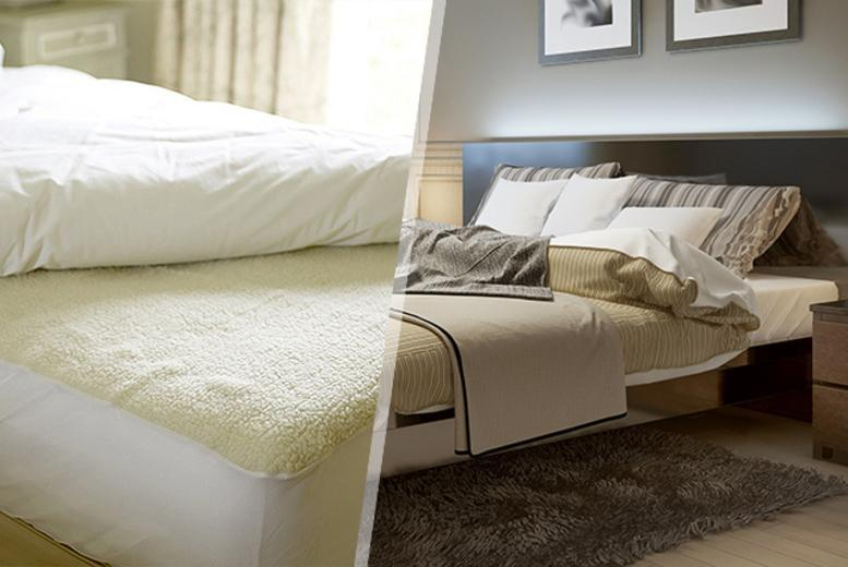 £6.99 instead of £24.99 (from Groundlevel) for a single faux sheepskin mattress topper, £9.99 for a double or £11.99 for a king - save up to 72%