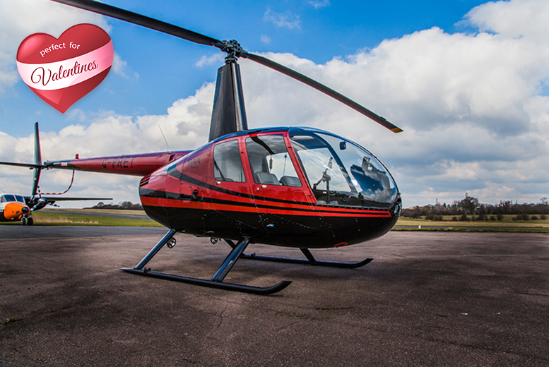 £99 instead of £198 for a helicopter flying experience for 2 people with Flying Pig Helicopters - save 50%