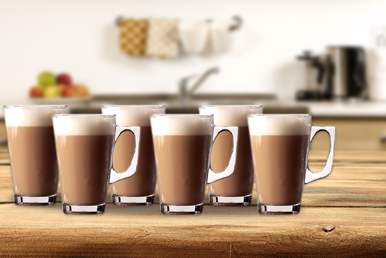 £5.99 instead of £26 (from Zoozio) for a set of six latte cappuccino mugs - save 77%