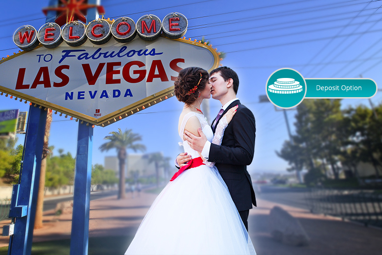 Get Married in the City of Lights - 7nt Vegas & Flights!