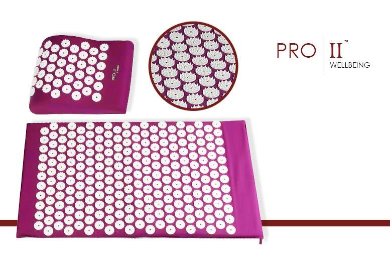 £9.99 instead of £49.99 (from Pro II) for an acupressure therapy pillow, £10.99 for a therapy mat, or £17.99 for both - save up to 80%