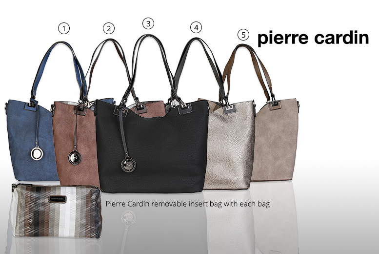 £29 instead of £80 (from Brands Store) for a Pierre Cardin handbag - choose from two styles and save 64%