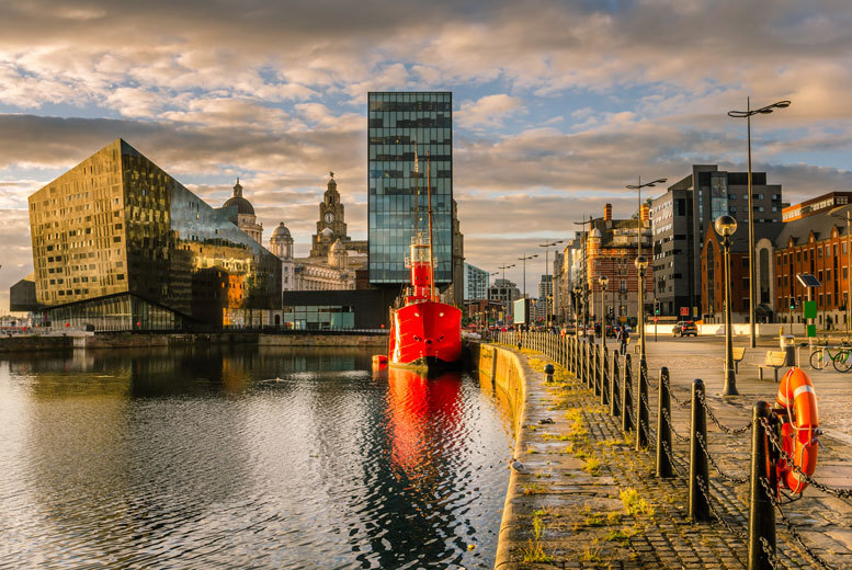 £69pp (from OMGhotels.com) for an overnight Liverpool hotel stay including breakfast and a two-course meal at Jamie's Italian