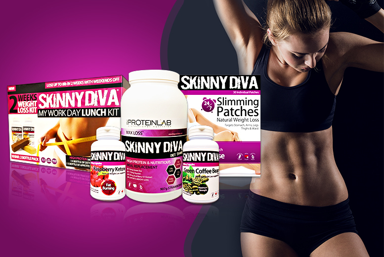£49 instead of £165 (from Skinny Diva) for a 5-piece 'weight management' pack inc. ketone, green coffee, 'slimming' patches & more - save 70%