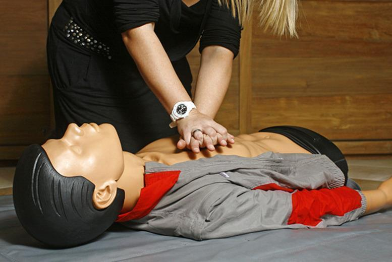 £22 instead of £95 for a one-day QCF First Aid Course with HDP Education Solutions, Coalville - save 77%
